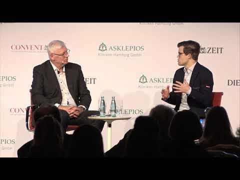 Magnus Carlsen interview at Die Zeit Health Conference