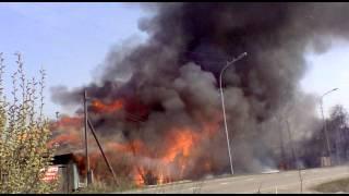 Частные дома горят в Тагиле