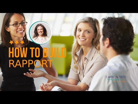 How To Build Rapport Productivity Tips