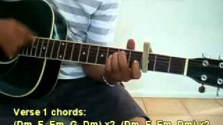 Aye meri zohra jabeen - guitar tutorial