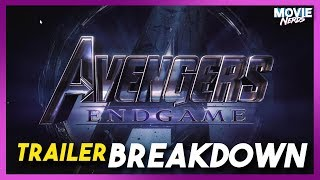 Avengers 4 End Game Trailer Breakdown