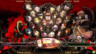 ゲームチャオ松阪 GUILTY GEAR Xrd REV2 平成30年4月28日(土) 3on大会