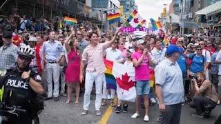 Justin Trudeau makes history at Pride
