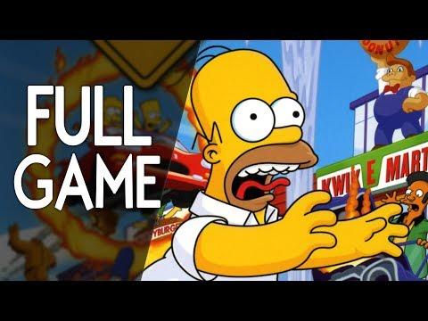 The Simpsons Hit \u0026 Run - FULL GAME Walkthrough Gameplay No Commentary