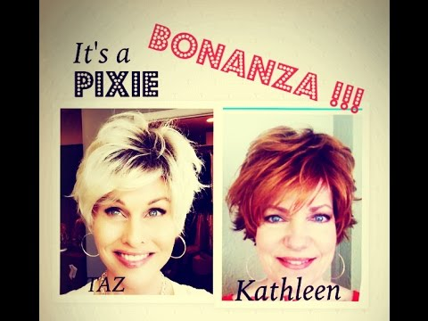 IT'S A PIXIE BONANZA WITH TAZ AND KATHLEEN!  COLLAB~ELLEN WILLE~RAQUEL WELCH & MORE!~