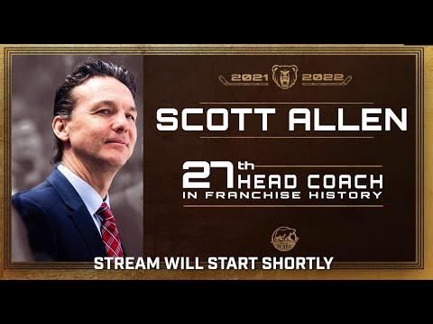 Scott Allen Hershey Bears Introductory Media Event