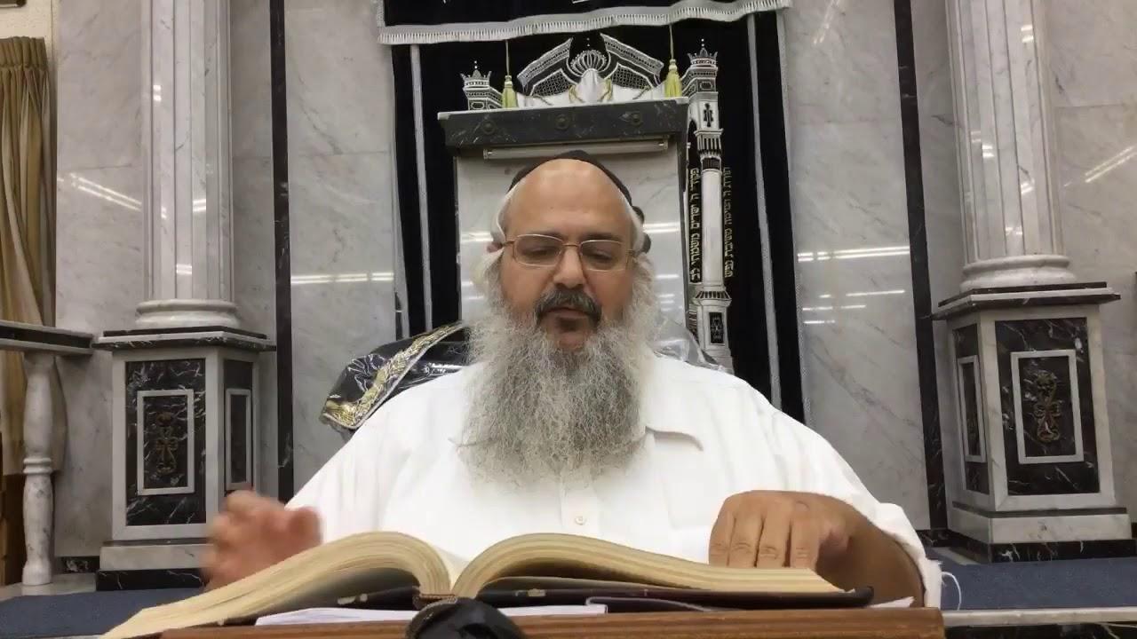 הרב שלמה לוינשטיין   פרשת עקב התשעח   2018