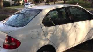 2002 Toyota Prius Review, Walk Around, Start Up & Rev, Test Drive