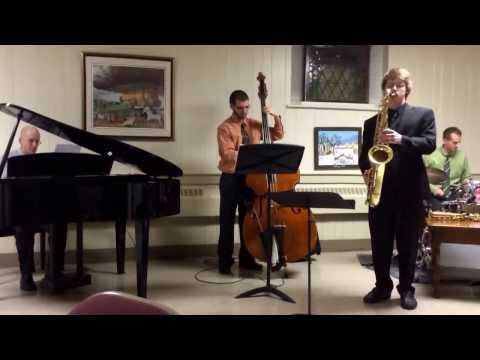 Seth Ebersole (sax), Steve Katzenmoyer (piano), Matt Phillips (drums), Ryan Bartz (bass) Calvary UCC