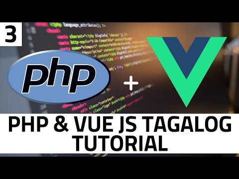 PHP OOP and Vue JS Part 3 - User Registration Form with Axios and Bootstrap thumbnail