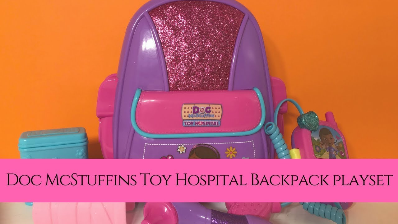 Doc McStuffins First Responders Backpack Set