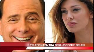 Telefonata tra Berlusconi e Belen resa pubblica il 5 marzo 2015