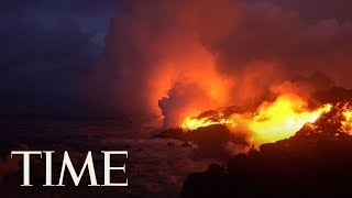 Lava From Hawaii's Kilauea Volcano Has Reached The Pacific Ocean & Is Creating A New Danger | TIME