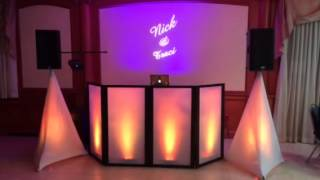 Dreams Package with Gobo Projector and LED lighting DJ Faca