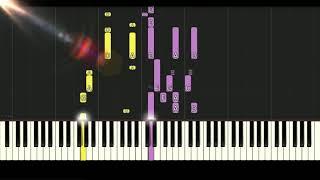 아이유(IU) 라일락(LILAC) Playing on Synthesia