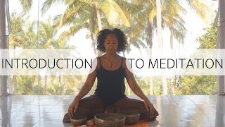 15 Minute Guided Introduction to Meditation  |  Nicole Windle Yoga