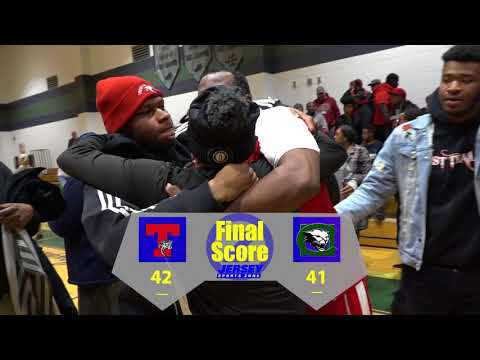 Trenton 42 Colts Neck 41 Boys Central Group 4 Championship 2018