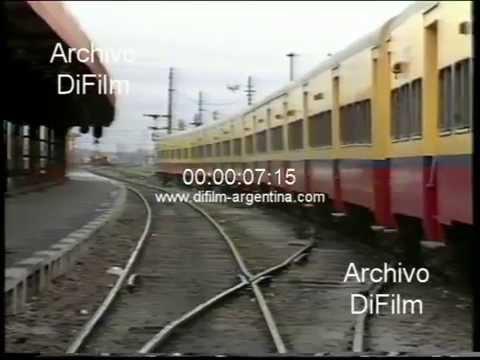 Paro de trenes en Buenos Aires dispuesto por la Fraternidad 1989