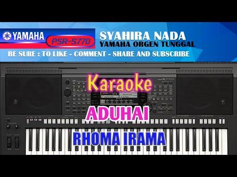 Karaoke Aduhai Rhoma Irama Ft Riza Umami Yamaha Psr S770