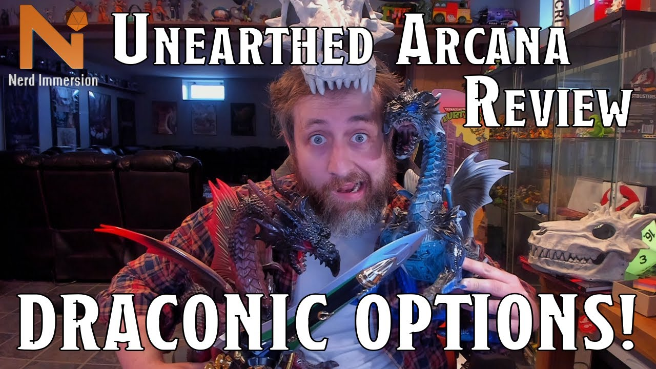 Unearthed Arcana Review: Draconic Options! | Nerd Immersion