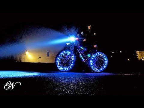 Подсветка велосипеда – стань самым ярким велосипедистом!