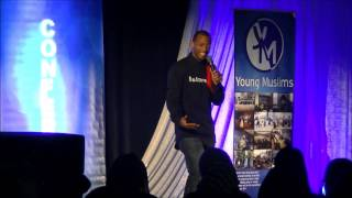 Omar Regan Stand Up Comedy at YM Youth Conference