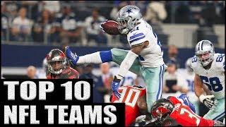 Top 10 NFL Teams 2017