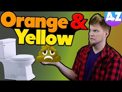 Why Do You Have Orange Or Yellow Poop?