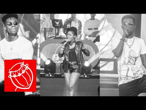MzVee, Kidi and Kuami Eugene treat fans with their hit Songs at the Lynx Wave Concert