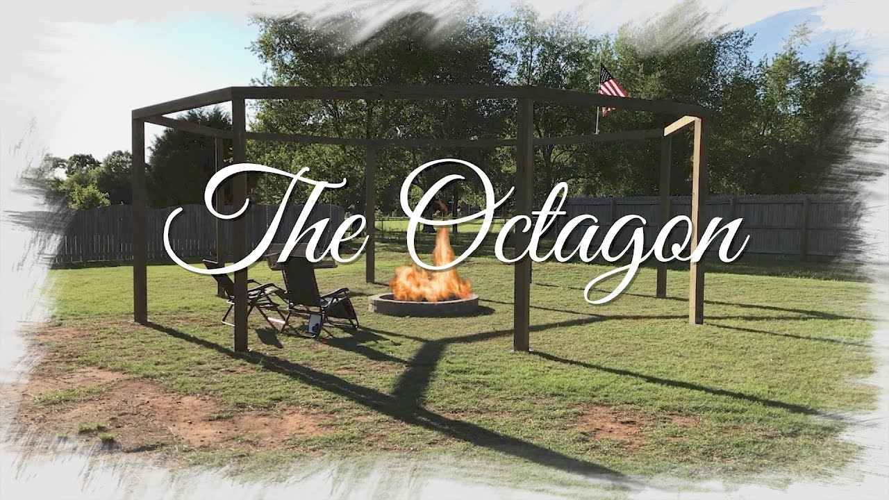 How to: Octagon Fire Pit w/Swing - YouTube
