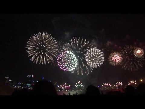 City Of Perth Skyworks 2012