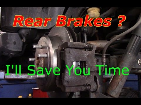 How To Replace  Rear Brakes And Rotors On A 2013 Jeep Wrangler