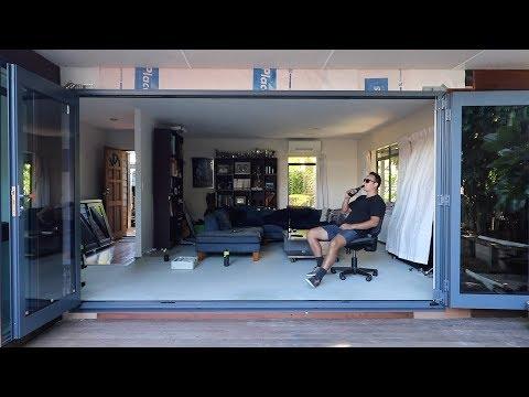 Installing BIG Bifold Doors