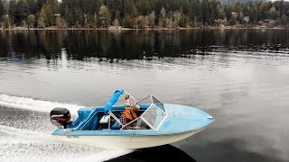 Learning How To Drive My FIRST BOAT !!