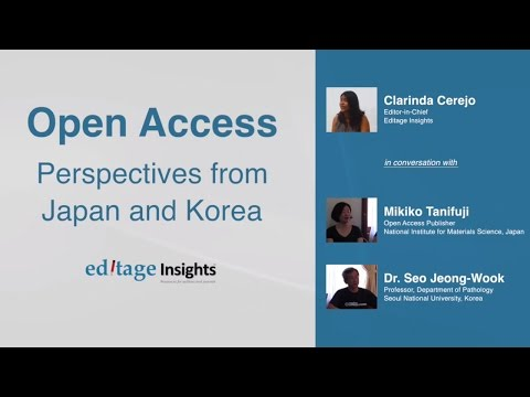 Open Access - Perspectives from Korea and Japan