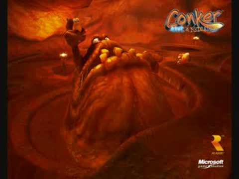 Conker Live and Reloaded: The Great Mighty Poo Song (Uncensored)