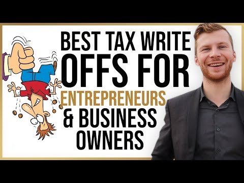 Best Tax Writeoffs For Entrepreneurs & Business Owners 2019 🏦