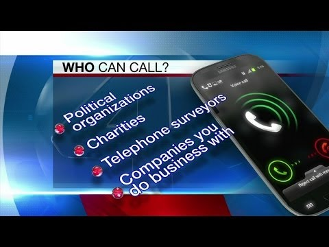 How do you stop telemarketing phone calls