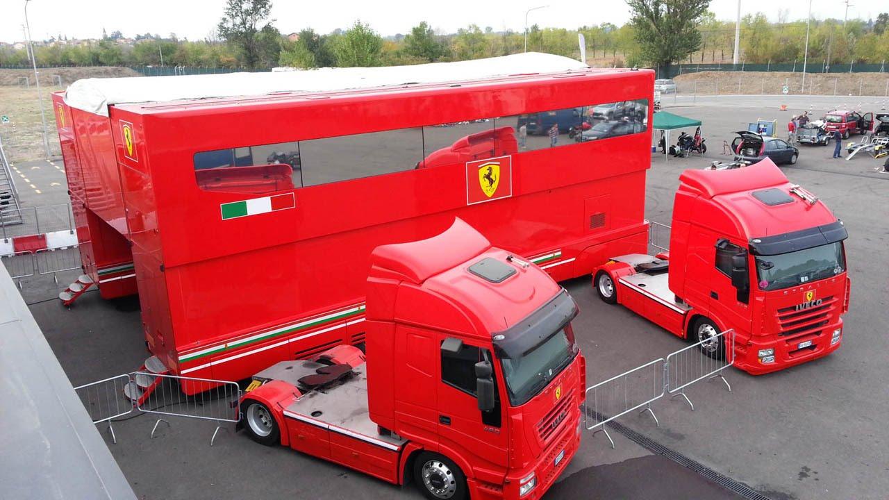 Scuderia Ferrari Transporters Youtube