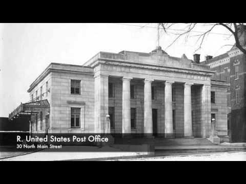 R. United States Post Office - Wood Library Historic Business District Audio Tour