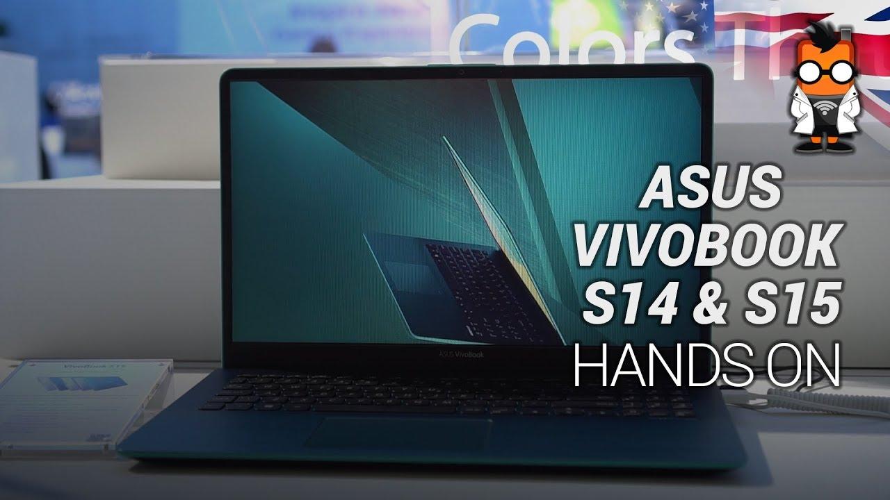 Asus VivoBook S14 & S15 Hands on