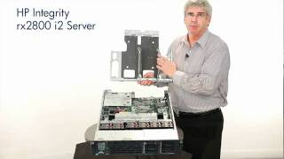 The new HP Integrity rx2800 i2 server @ MIT Limited