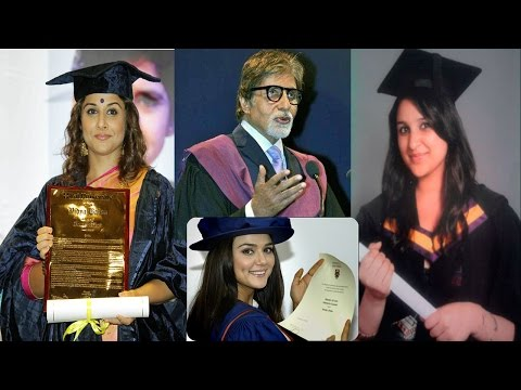 Thumbnail: Top 10 Highly Educated Bollywood Celebrity - The TopLists