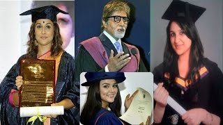 Top 10 Highly Educated Bollywood Celebrity - The TopLists