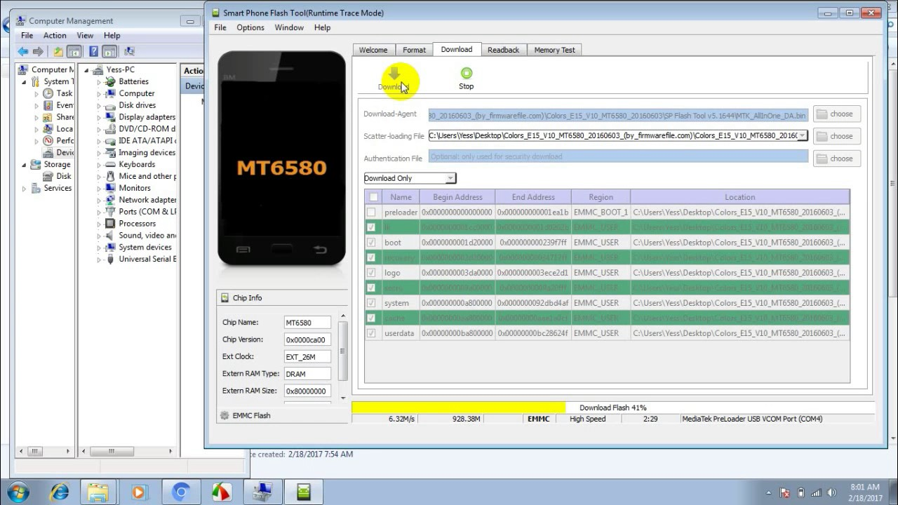Colors E15 Flash Without box Fix Bootloop,Porn VIrus & Flash File Free