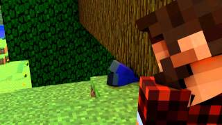 Minecraft Timber Animation Parody Song