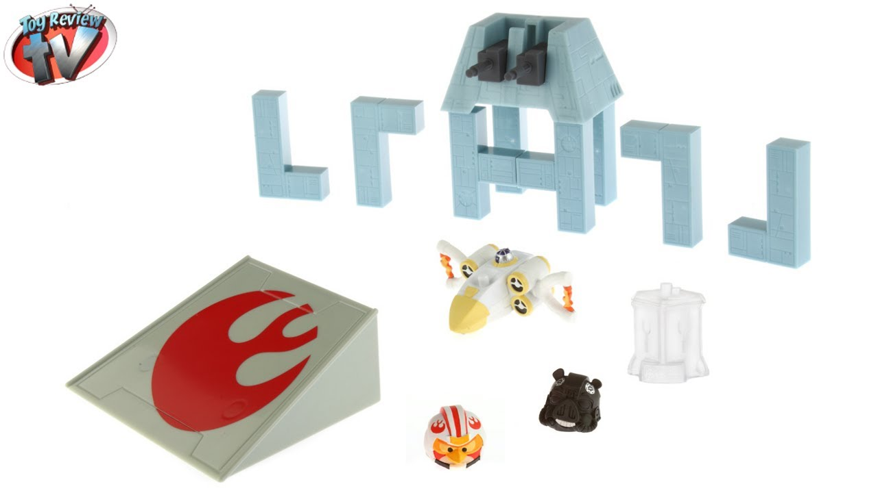 Angry Birds Star Wars Telepods: Death Star Trench Run Set ...