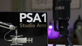 Video Rode PSA1 Boom Arm + Rode NT USB Mic Review + Setup download MP3, 3GP, MP4, WEBM, AVI, FLV September 2018