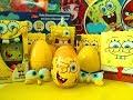 Губка Боб Квадратные Штаны Киндеры и Игрушки с Сюрпризами Unboxing Kinder Toys Surprise SpongeBob mp3