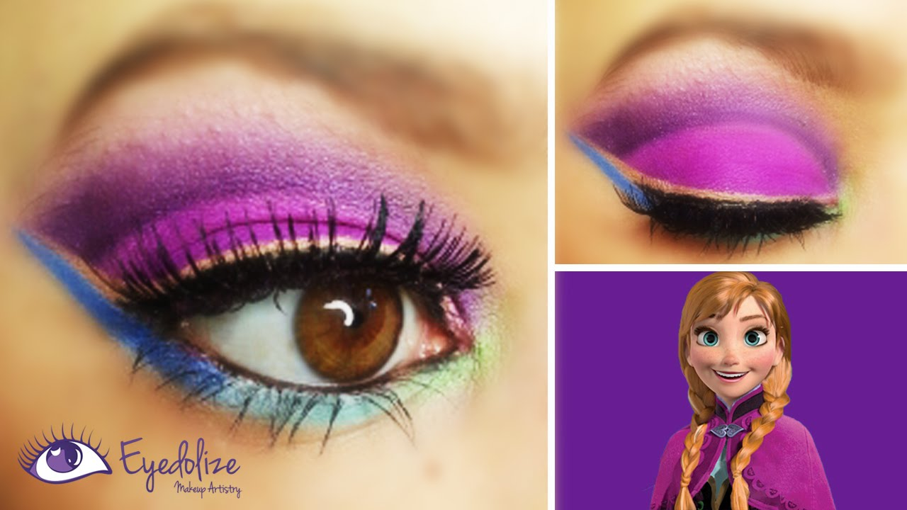 Makeup frozen elsa and anna new blog wallpapers disney s frozen anna inspired eyeshadow tutorial with eolizemakeup charliscraftykitchen you baditri Image collections